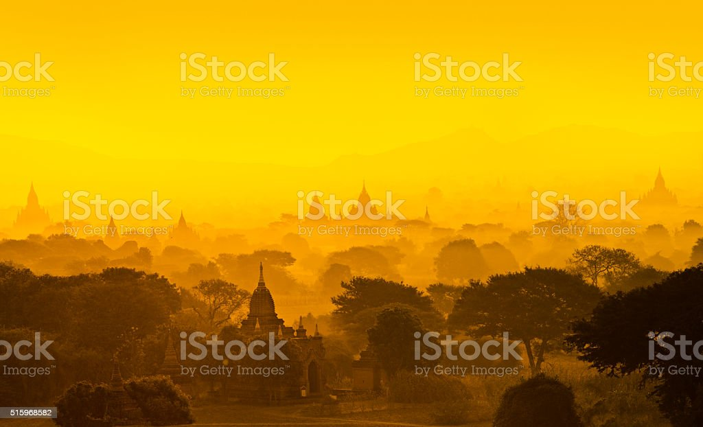 Bagan, Myanmar stock photo