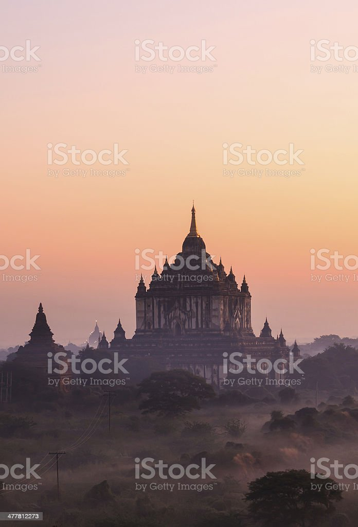 Bagan pagoda,Myanmar royalty-free stock photo