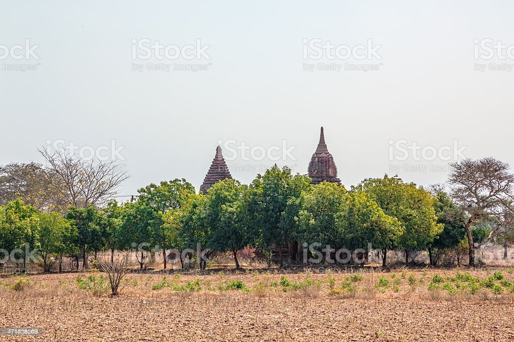 Bagan panorama royalty-free stock photo