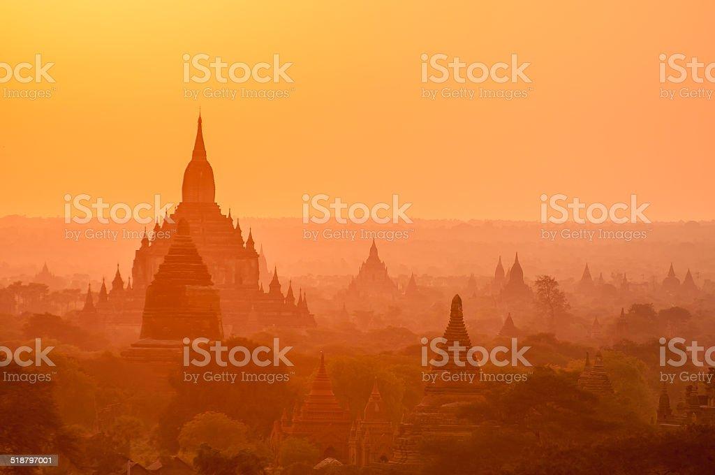 Bagan stock photo