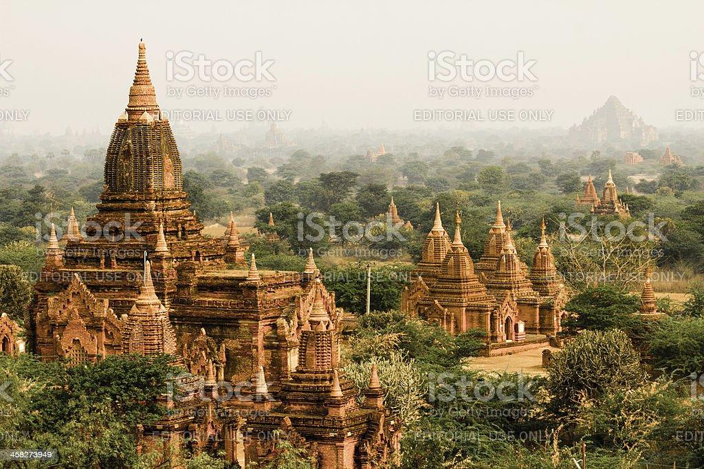 Bagan Temples Myanmar stock photo