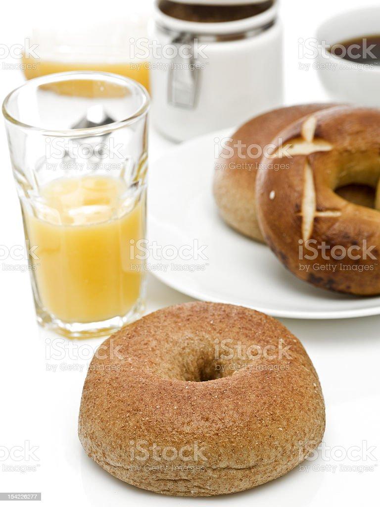 Bagel Breakfast stock photo