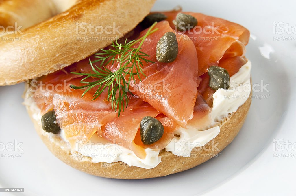 Bagel stock photo