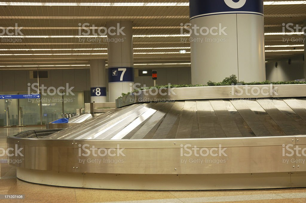 Baggage Claim 6 royalty-free stock photo