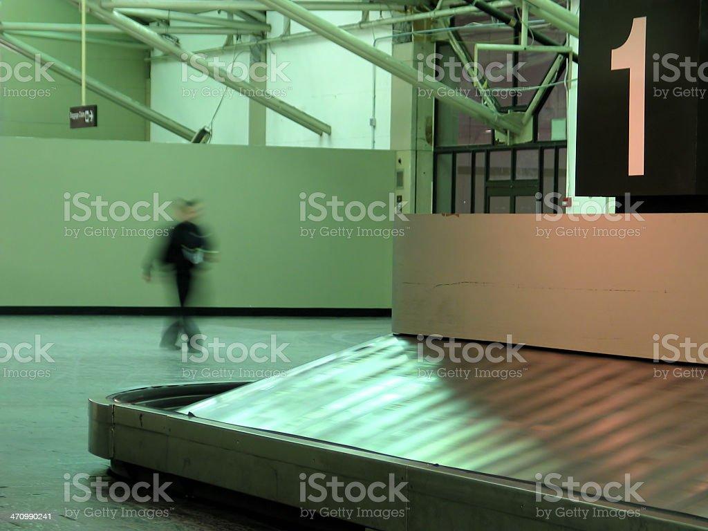 Baggage Claim royalty-free stock photo