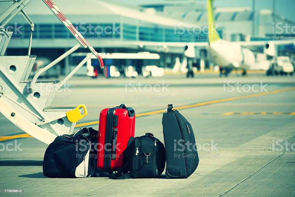 Baggage royalty-free stock photo