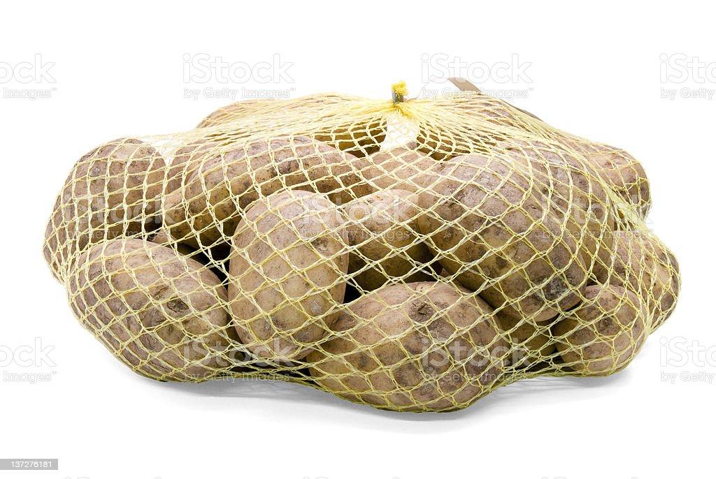 Bagged Potato royalty-free stock photo
