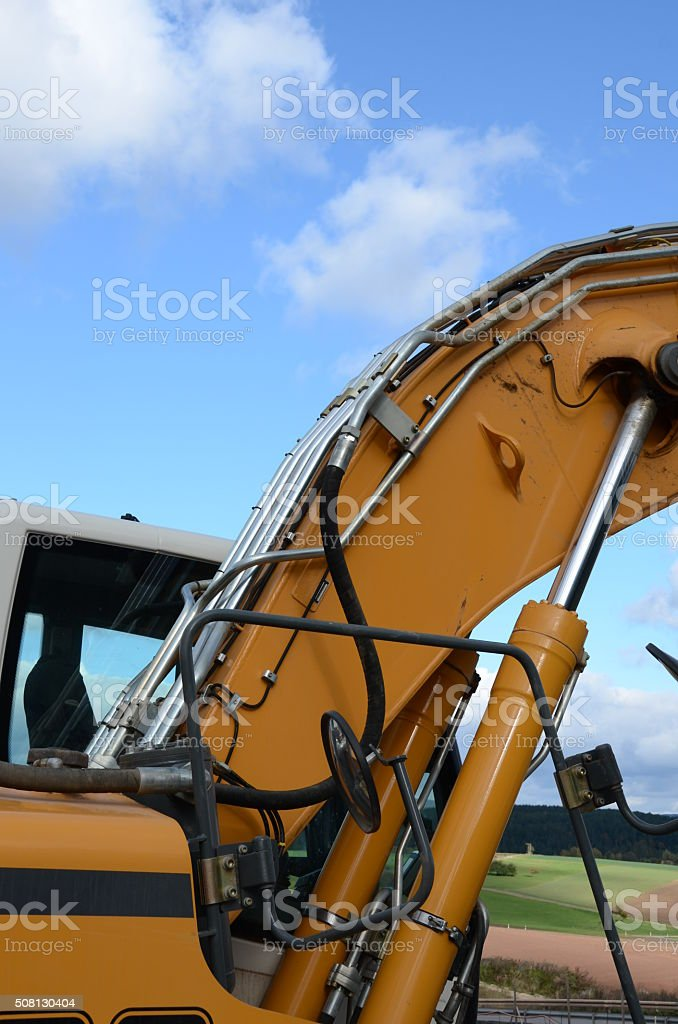 Bagger stock photo