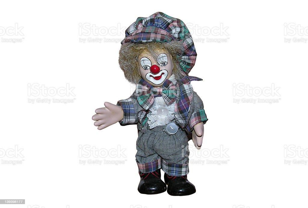 Baggy Clown stock photo