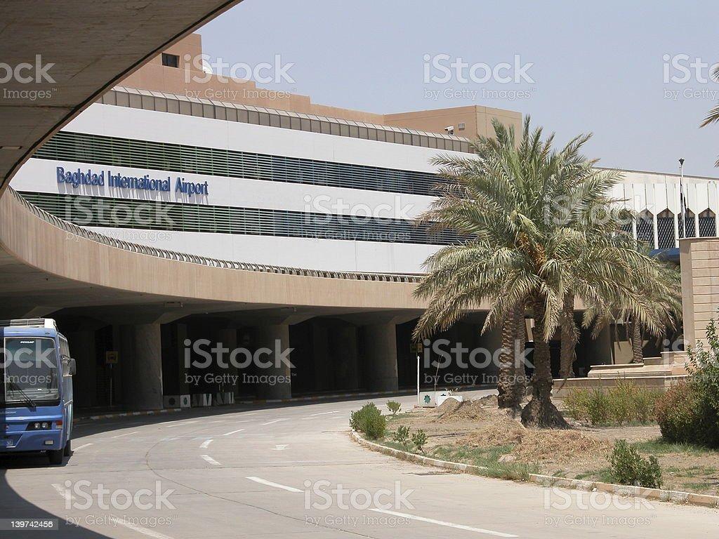 Baghdad Iraq Airport stock photo