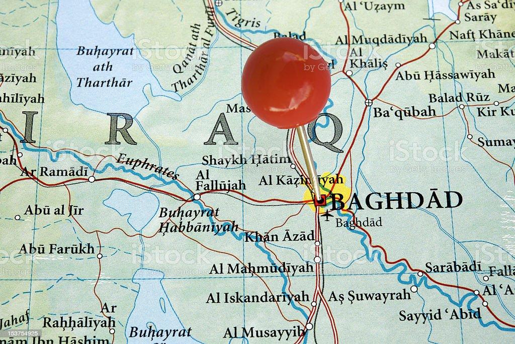 Baghdad royalty-free stock photo
