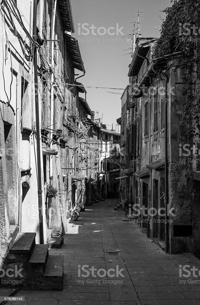Bagnaia (Viterbo, Italy) stock photo