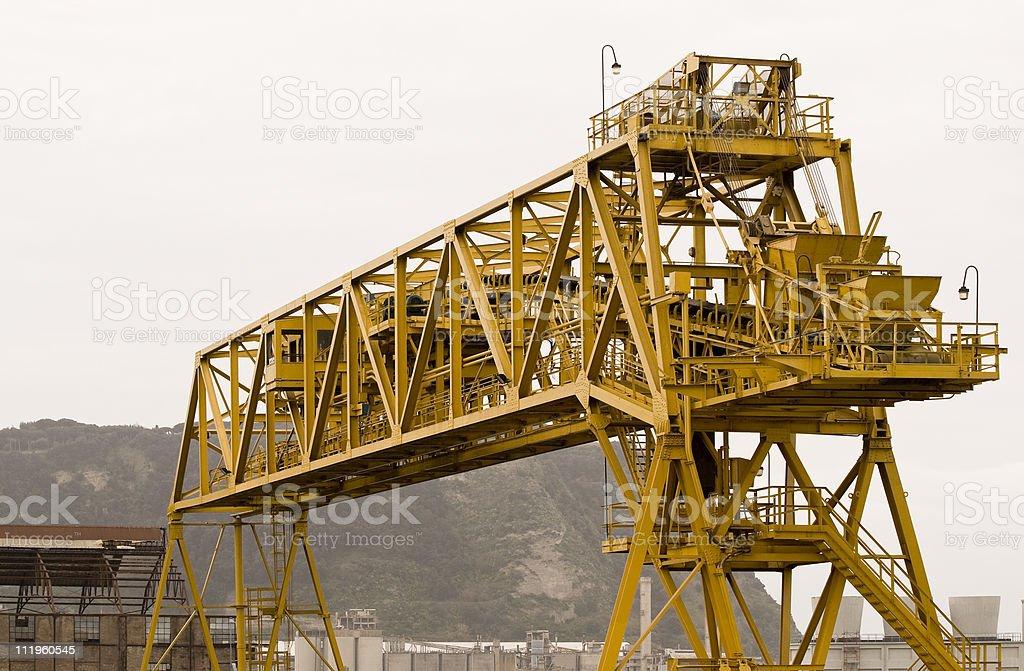 Bagnoli ex Italsider - Steel industry royalty-free stock photo