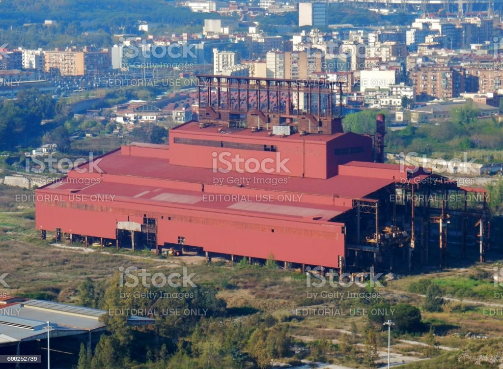 Bagnoli - Archeologia industriale stock photo