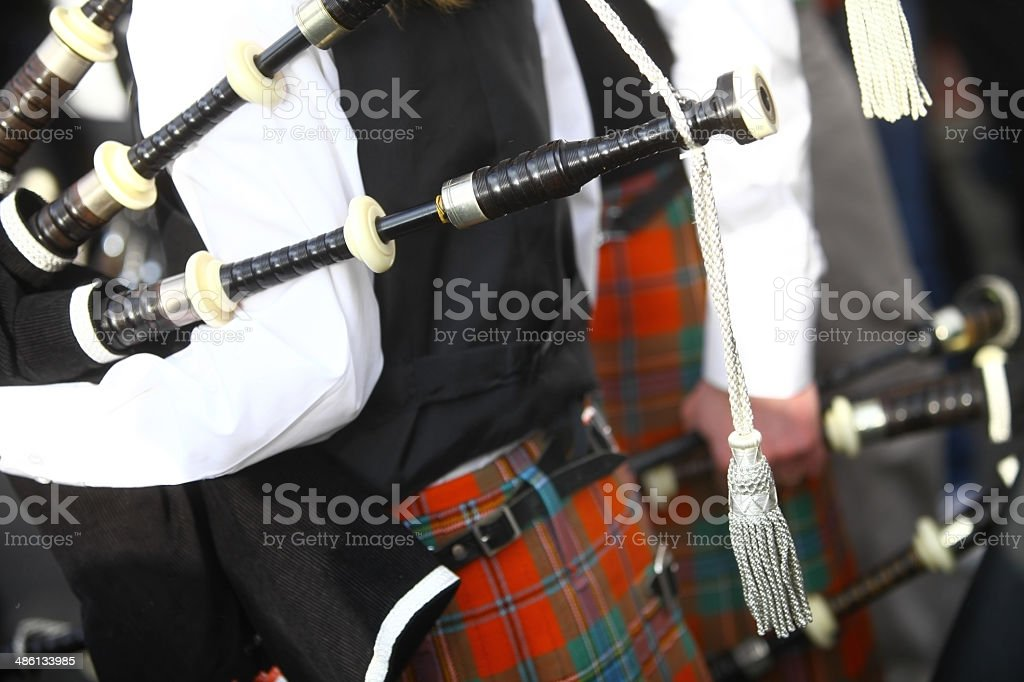 Bagpipe stock photo