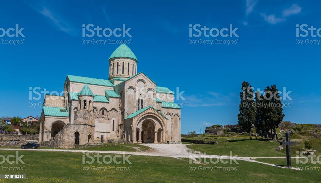 Bagrati Cathedral II stock photo