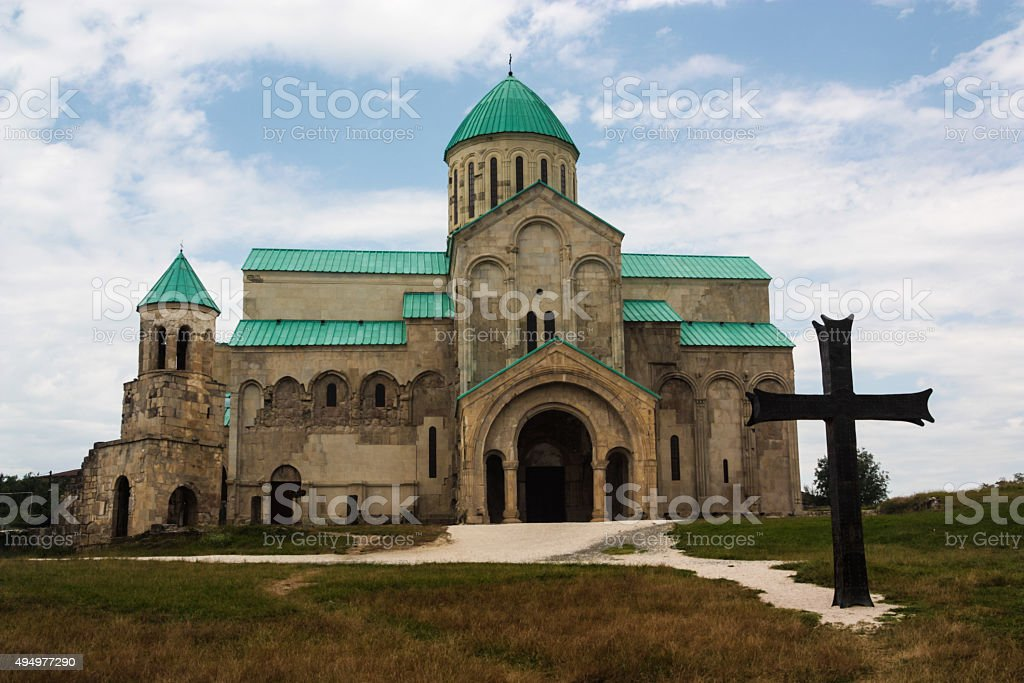 Bagrati Cathedral stock photo