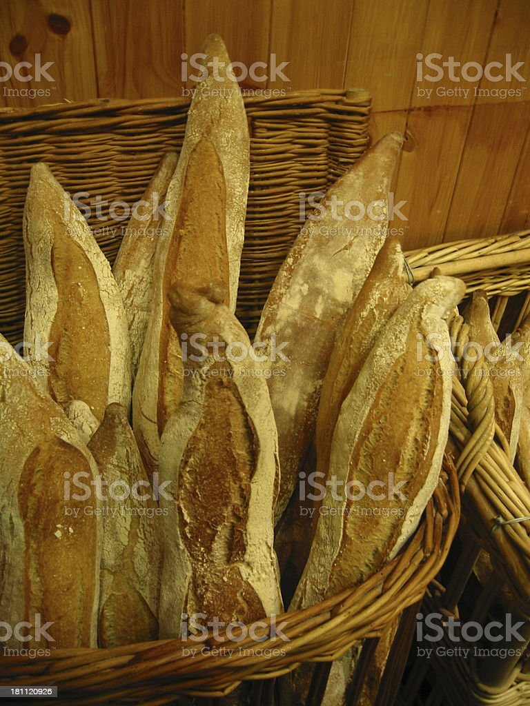 Baguette Bread royalty-free stock photo