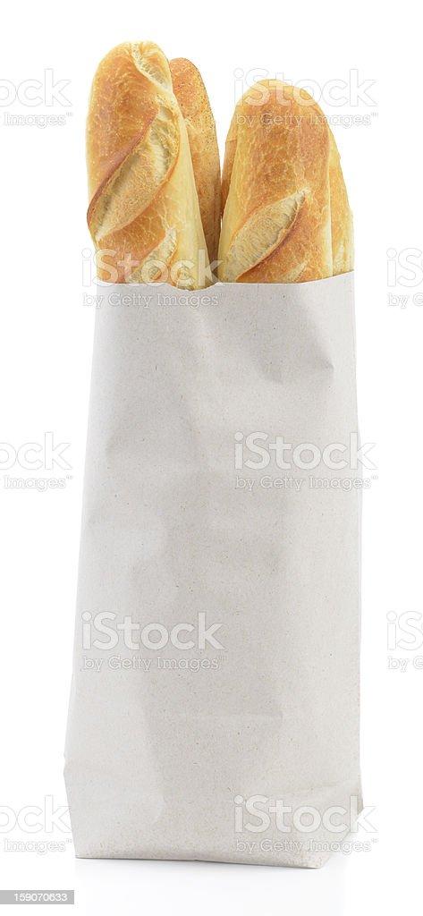 Baguette stock photo