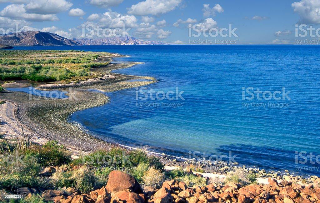 Bahía Concepción stock photo