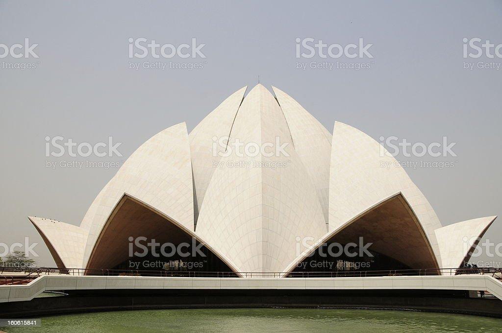 Baha'i House of Worship,Delhi,Punjab,India. royalty-free stock photo