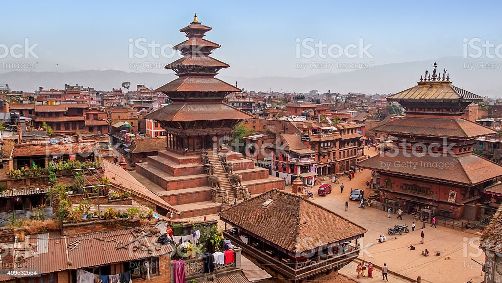 Bahakapur, Nepal stock photo