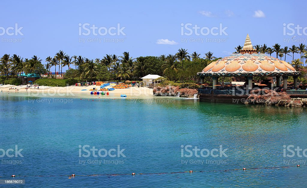 Bahamas atlantis paradise island royalty-free stock photo
