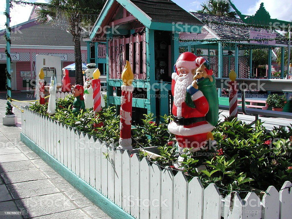 Bahamas Christmas royalty-free stock photo