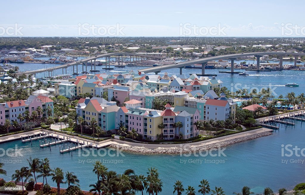 Bahamas Condo Scene royalty-free stock photo