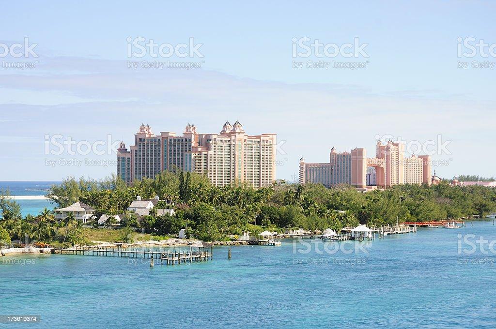 bahamas paradise island way of life royalty-free stock photo