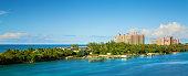 Bahamas scenery at Nassau, caribbean.