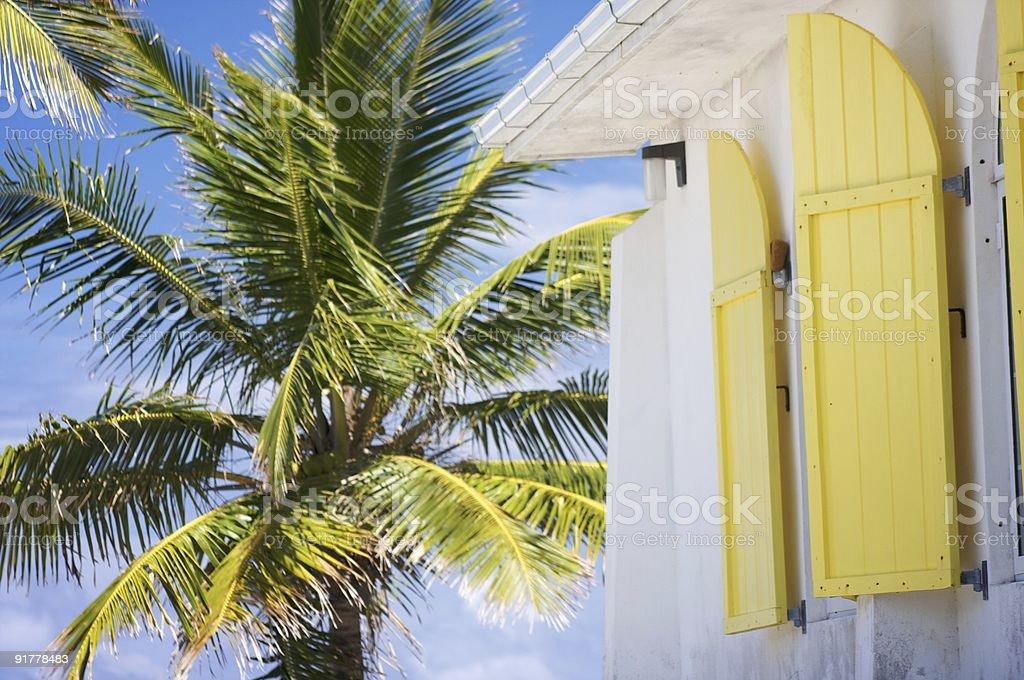 Bahamian Church stock photo