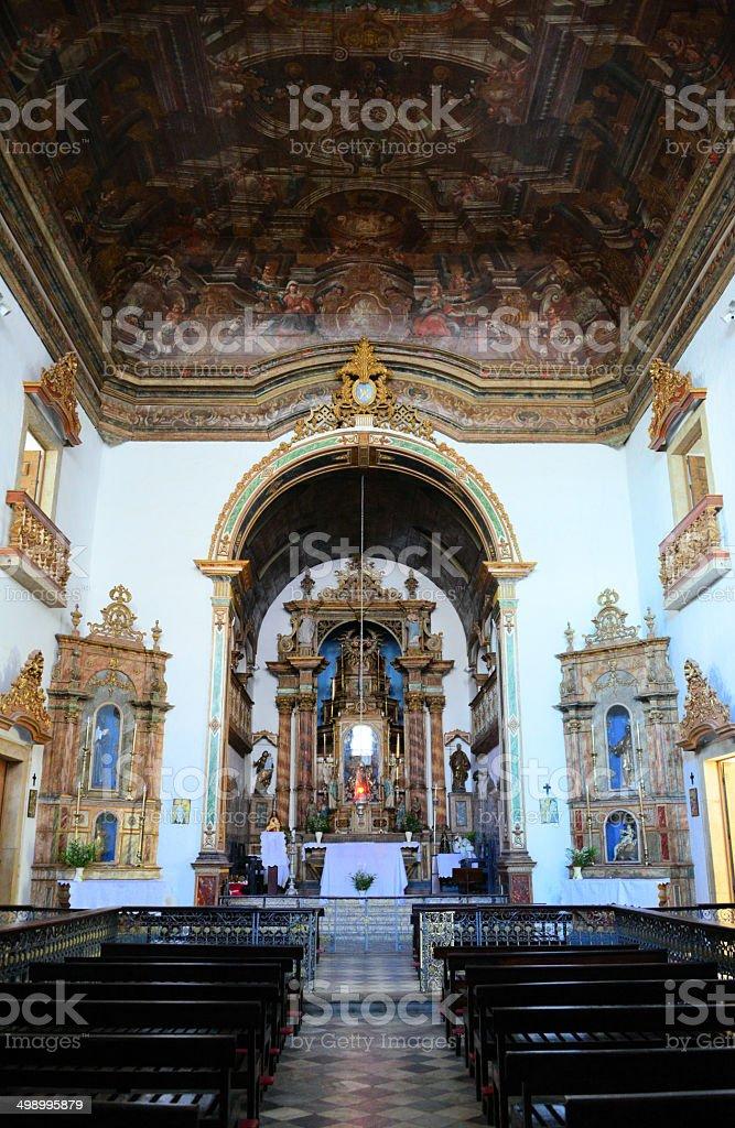 Bahia, Brazil, Lady of the Rosary of the Blacks church stock photo