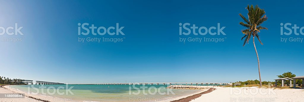 Bahia Honda beach Florida Keys stock photo