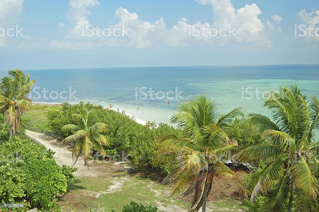 Bahia Honda beach stock photo