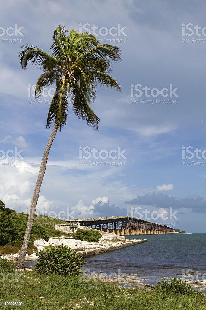 Bahia Honda Key Florida stock photo