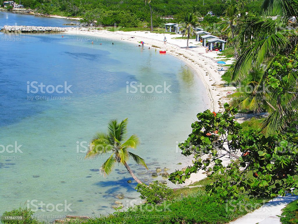 Bahia Honda landscape stock photo