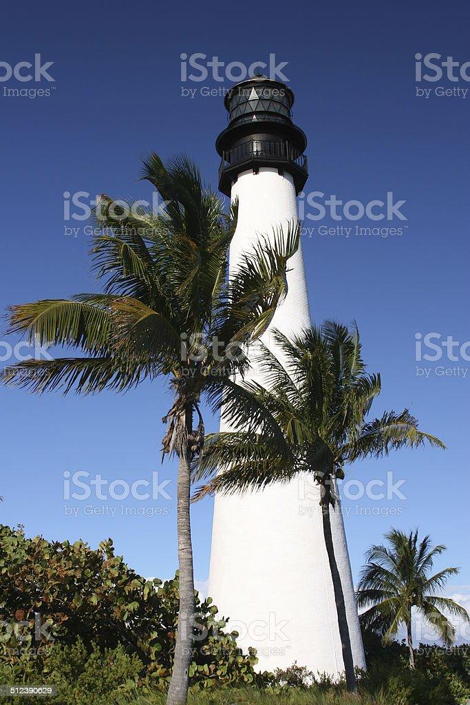 Bahia Honda Lighthouse stock photo