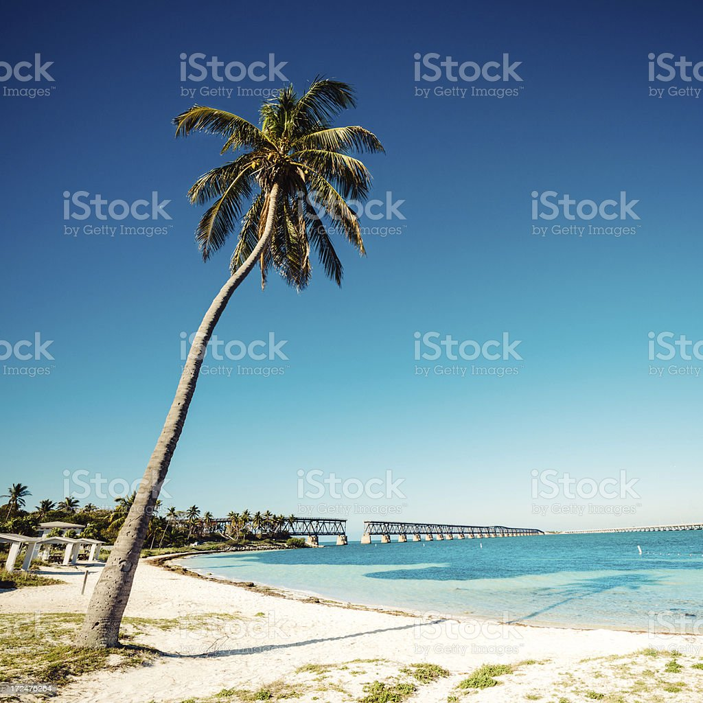 Bahia Honda State Park Florida stock photo
