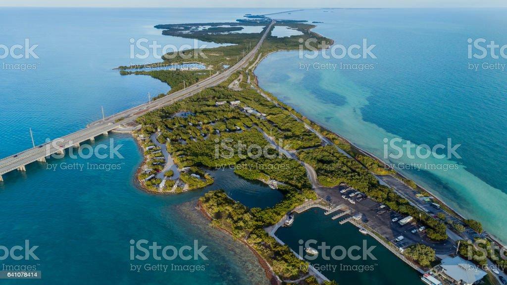 Bahia Honda State Park stock photo