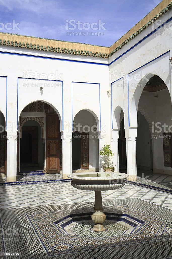 Bahia Palace royalty-free stock photo