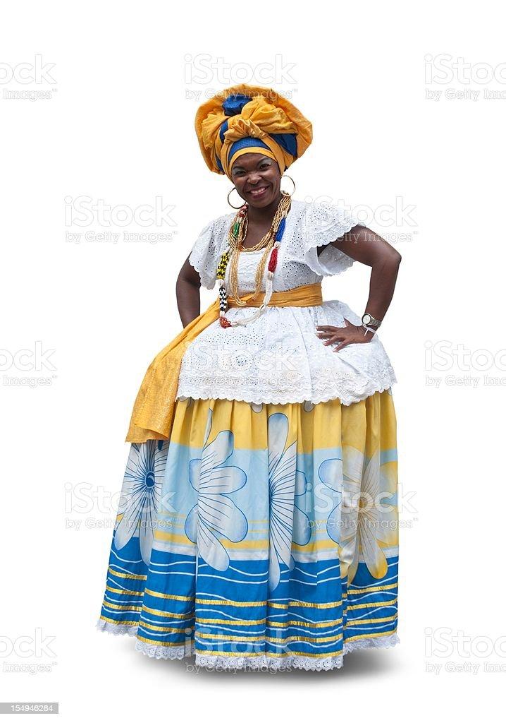 Bahiana, isolated royalty-free stock photo