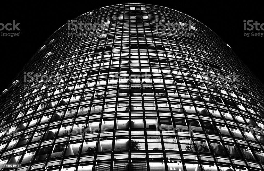 Bahn Tower stock photo