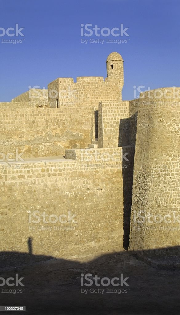 Bahrain Fort royalty-free stock photo