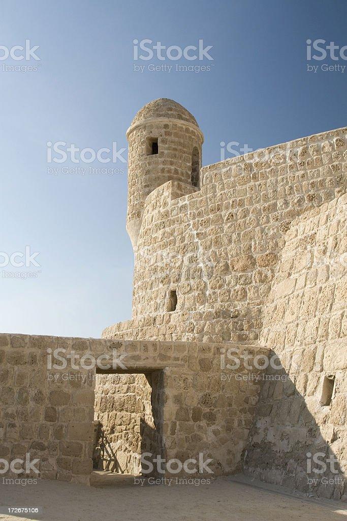 Bahrain Fort stock photo
