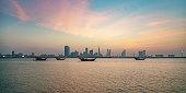 Bahrain Manama City by Night