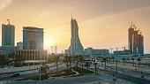 Bahrain Manama City Sunset