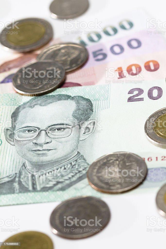 Baht royalty-free stock photo