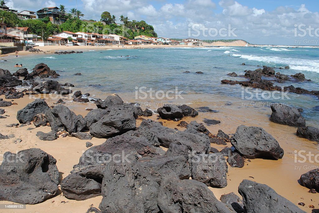 baia formosa beach stock photo