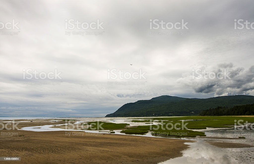Baie-St-Paul, Charlevoix, Quebec, Canada royalty-free stock photo